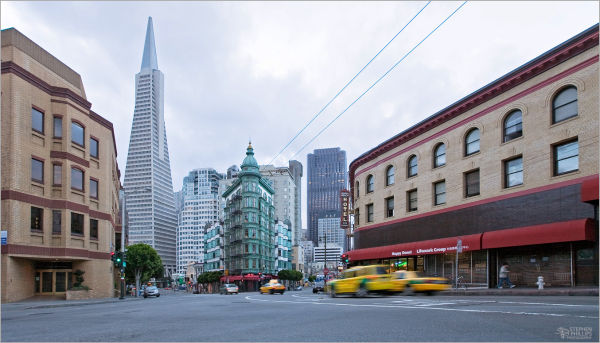early Sunday morning in San Francisco
