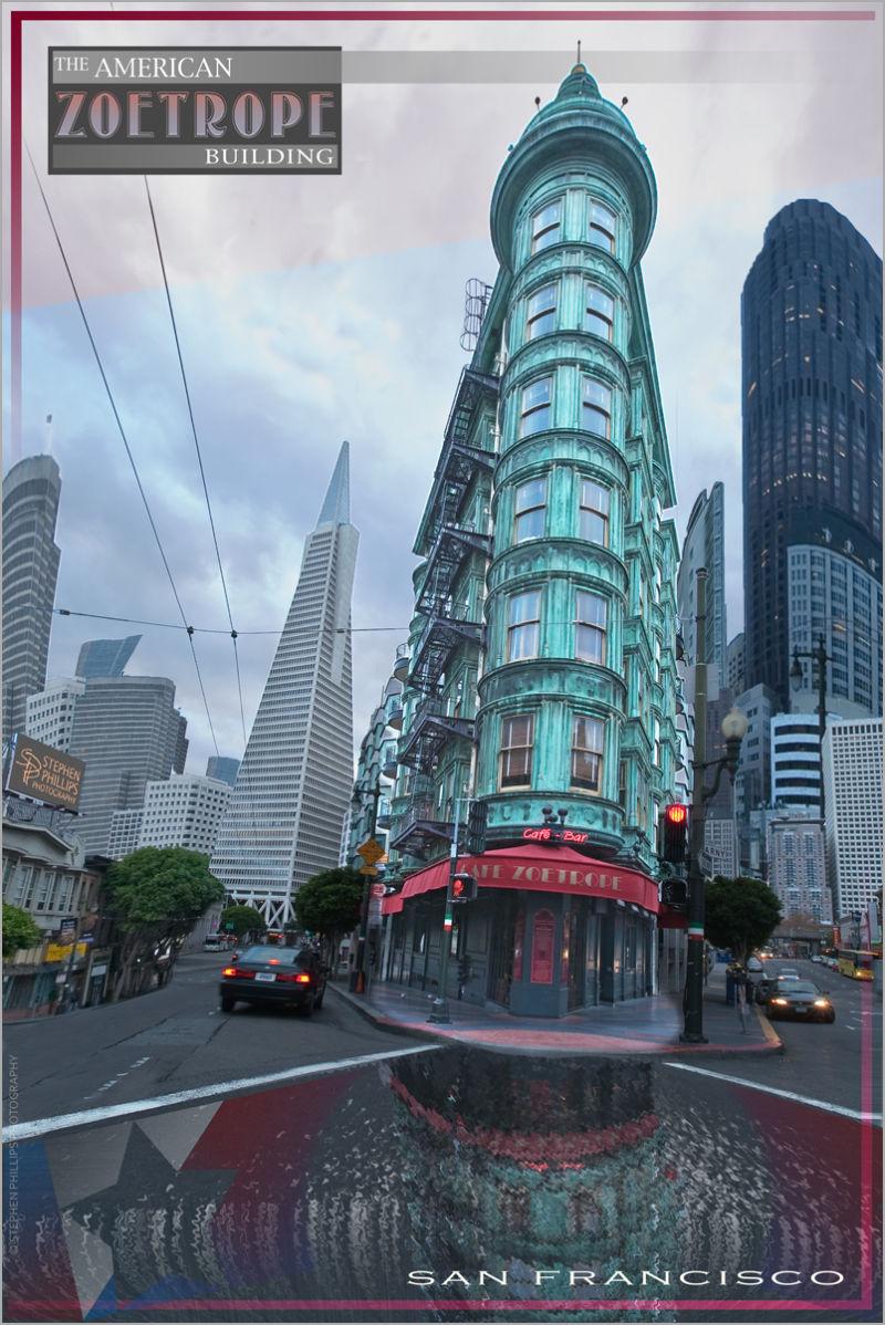 Zoetrope Building in San Francisco
