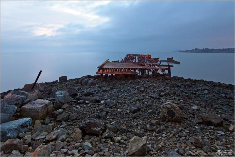 Ruins near Golden Gate Fields racetrack