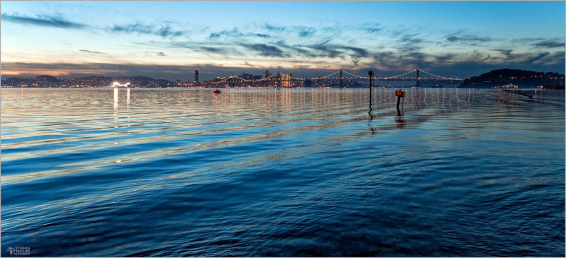 San Francisco as seen from Oakland, California