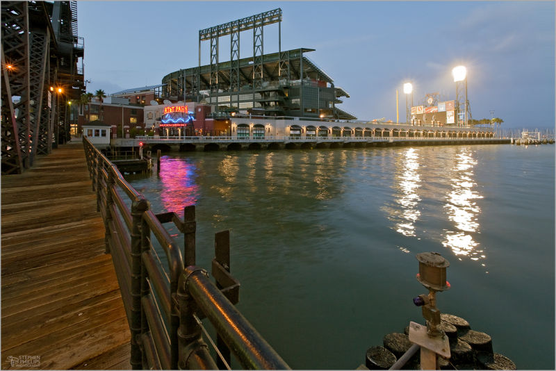 AT&T Park in the post-season