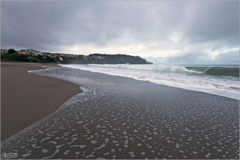 Sea Cliff at Baker Beach in San Francisco