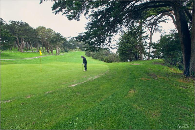 Lincoln Park golf course in San Francisco