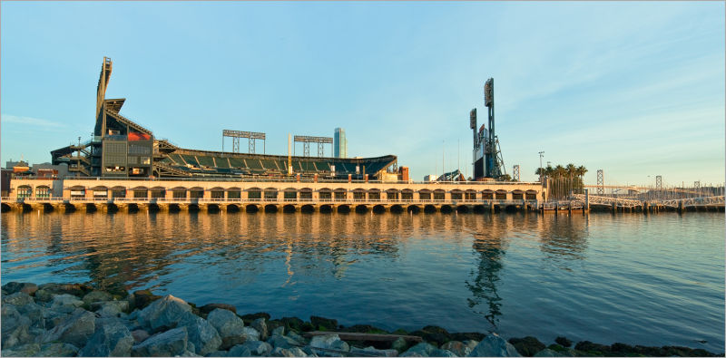 AT&T Park in San Francisco California