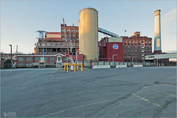 The C & H Sugar plant Crockett, California
