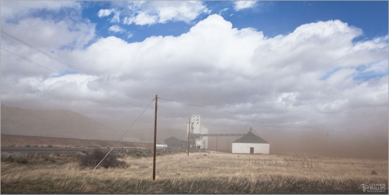 Dust on the Modoc Plateau