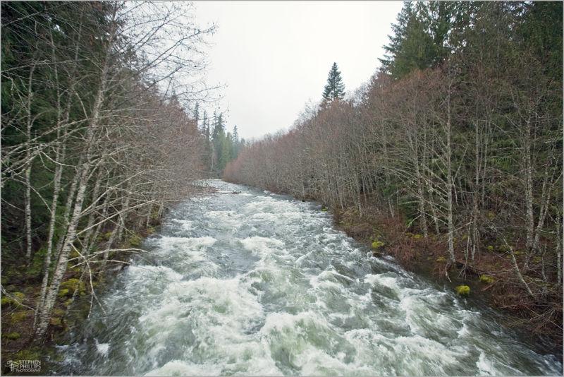 Santiam River Oregon early spring