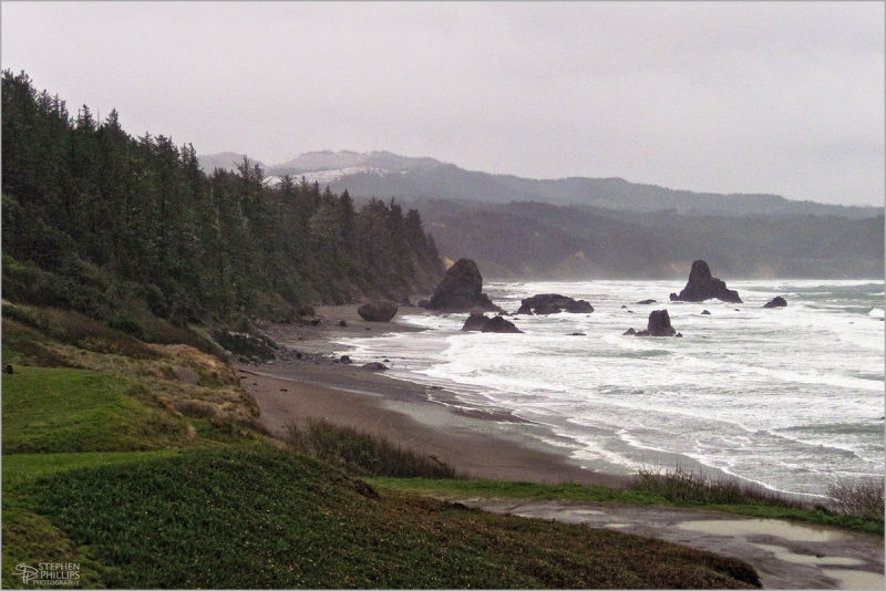 Oregon Coast at Port Orford