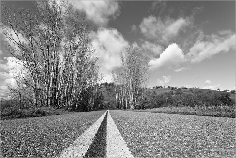 Country Road Cherry-Glenn Road Solano California
