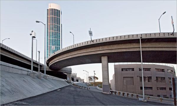 Bay Bridge entrance on Rincon Hill