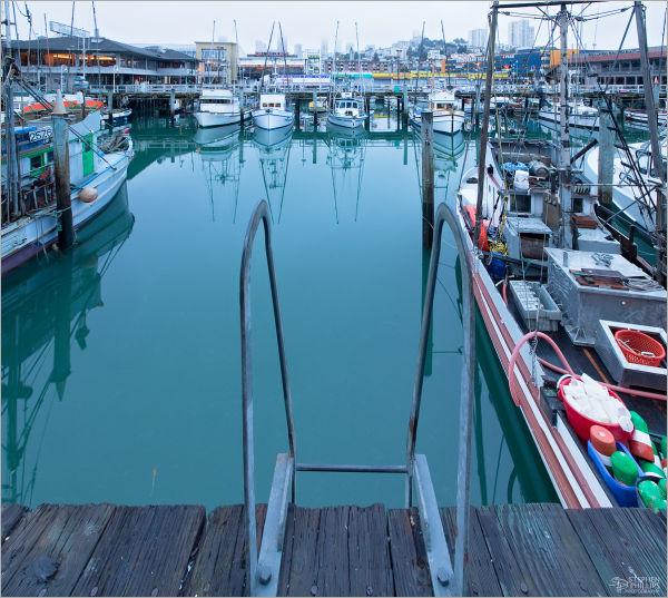 Berth at Fisherman's Wharf in San Francisco