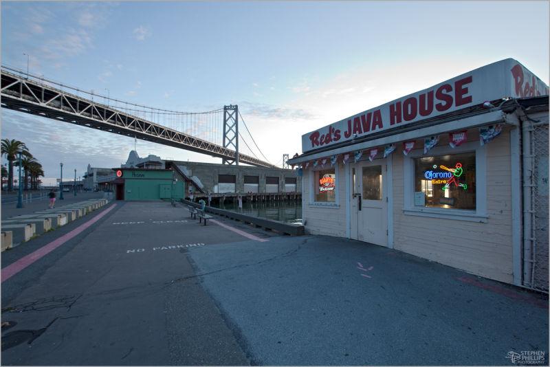 Dawn at Reds Java House San Francisco