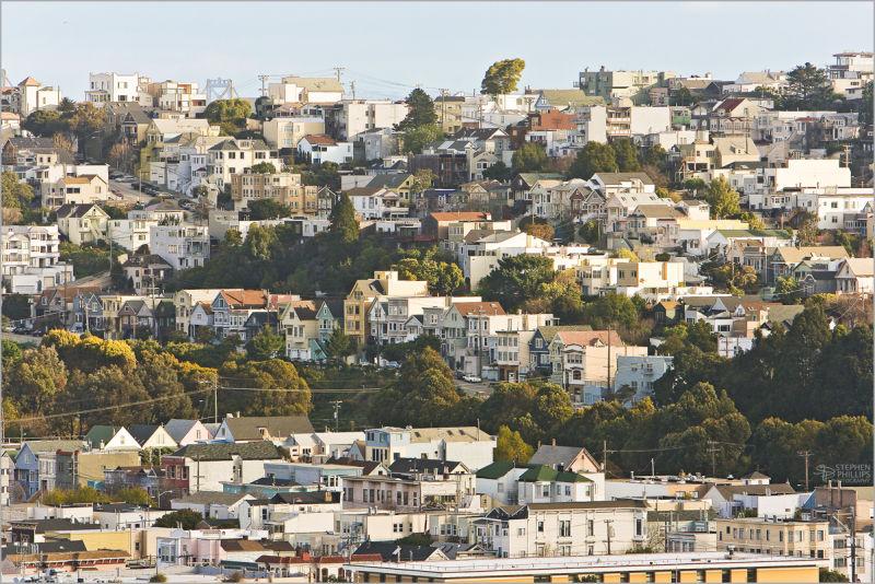Potrero Hill in San Francisco