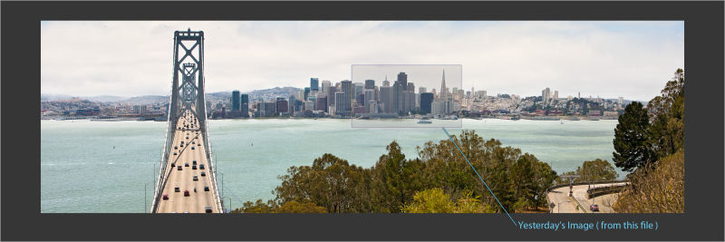 view of San Francisco from Yerba Buena Island