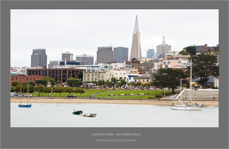 Aquatic Park in San Francisaco