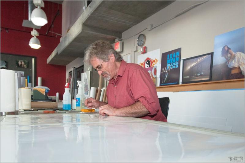 Erik Reinecke at work san Francisco