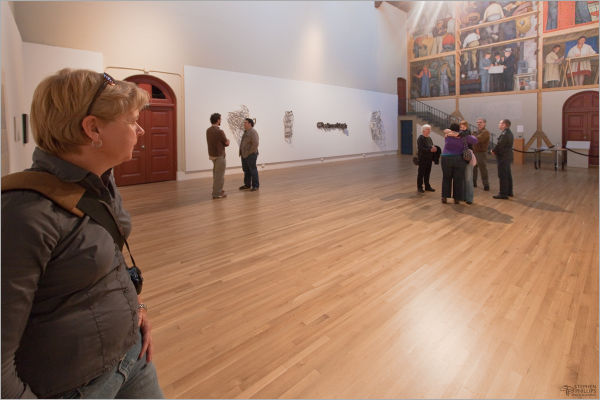 Cole Robbins art reception Diego Rivera Gallery