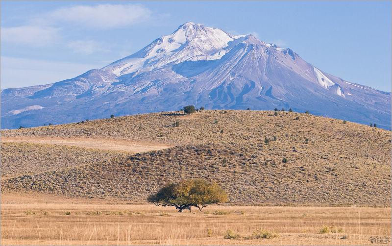 Mount Shasta late drought mountain Siskiyou