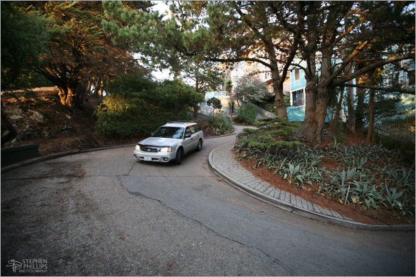 Vermont Street on Potrero Hill in San Francisco