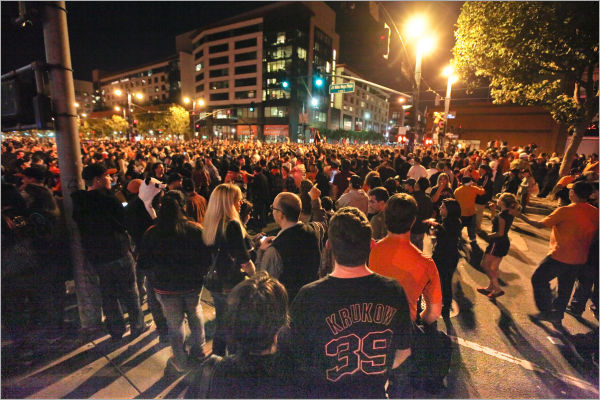 Giants World-Series Victory