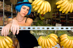jesse bananas and blue