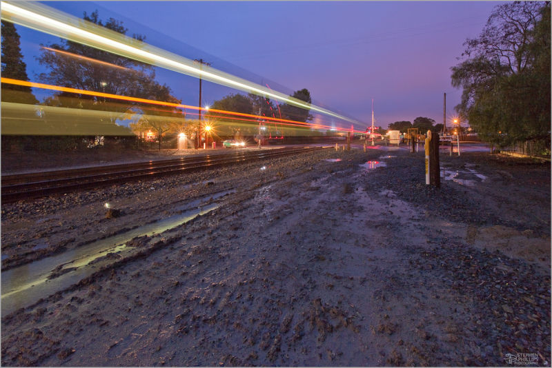 Train Crossing in Pinole California