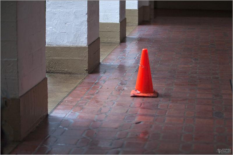 orange cone sentinel