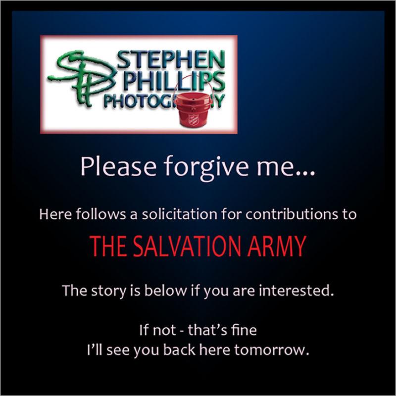 Salvation Army solicitation