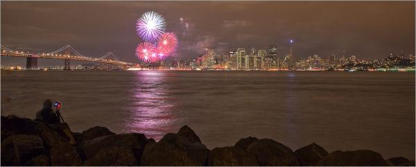 New Year celebration in San Francisco