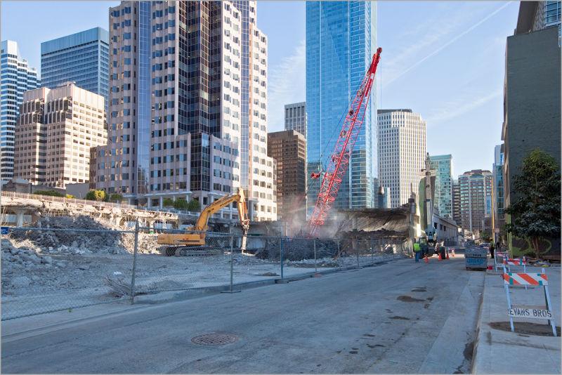 Transbay Terminal San Francisco demolition