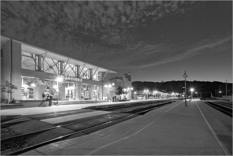 Martinez Ca Amtrak train passenger rail station