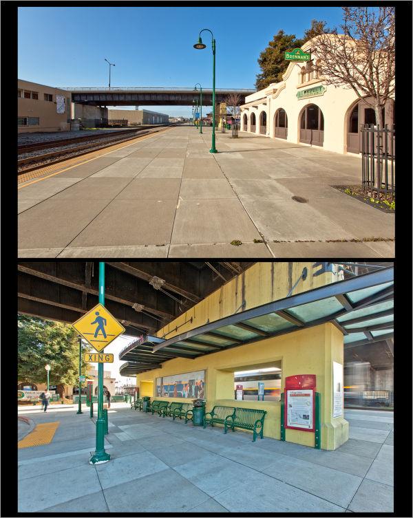 Amtrak Station Berkeley, California