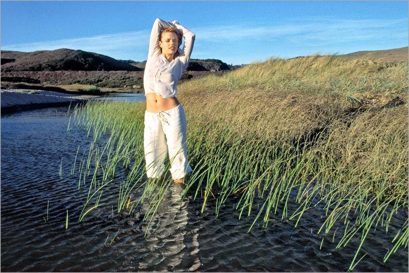 Molly Klaproth at Boony Doon Beach