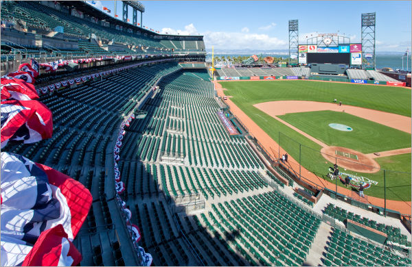 Getting AT&T Park ready for opening day