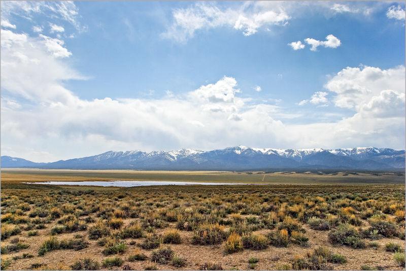 Nevada Egan mountain range
