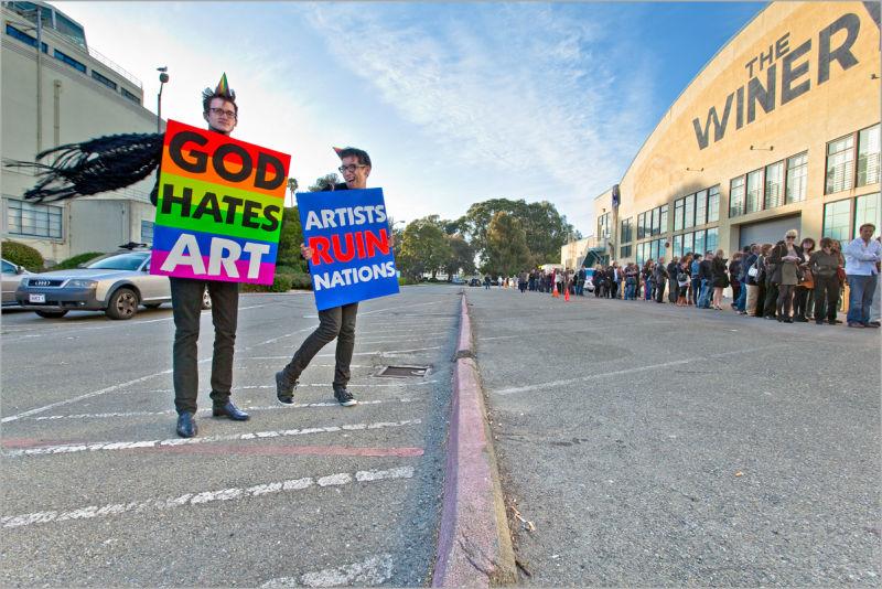 Art Conceptual Installation God Hates Art