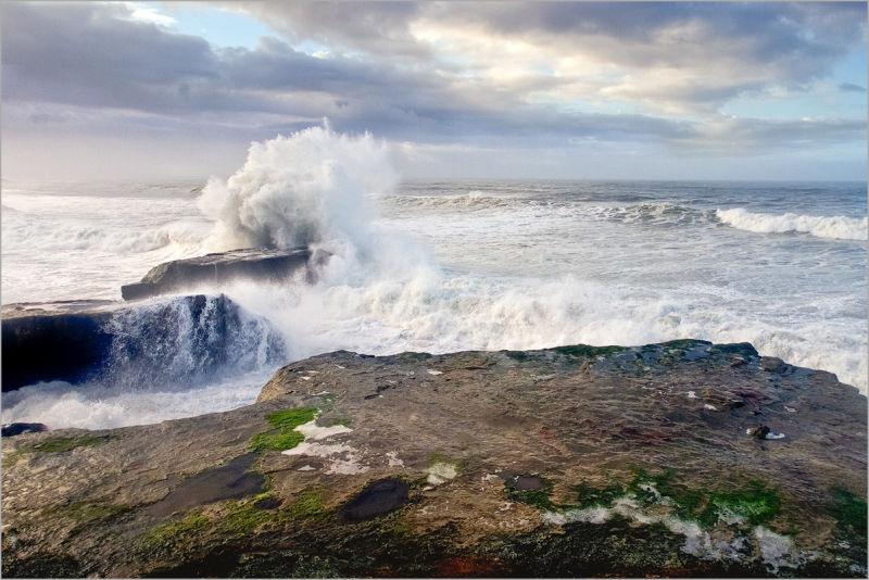 Storm Surge at Santa Cruz