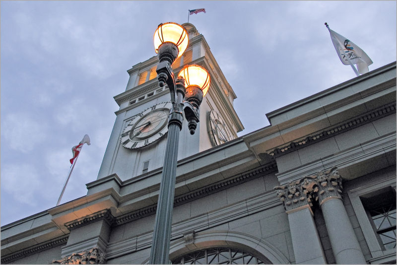 Ferry Building tower in San Francisco