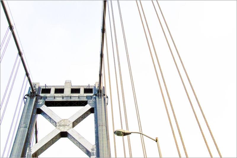tower on the Bay Bridge San Francisco