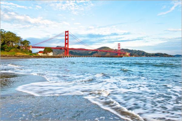 Blue Dawn at Crissy Field Golden Gate