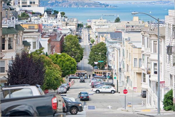Mason Street in San Francisco