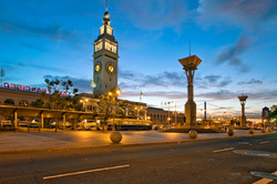 Daybreak at the Ferry Building