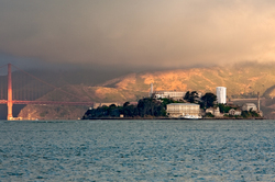Sunrise on Alcatraz & Across The Golden Gate