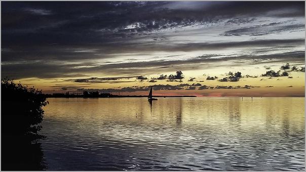 Key West, Florida at sunrise