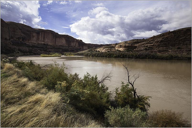 Colorado river through eastern Utah