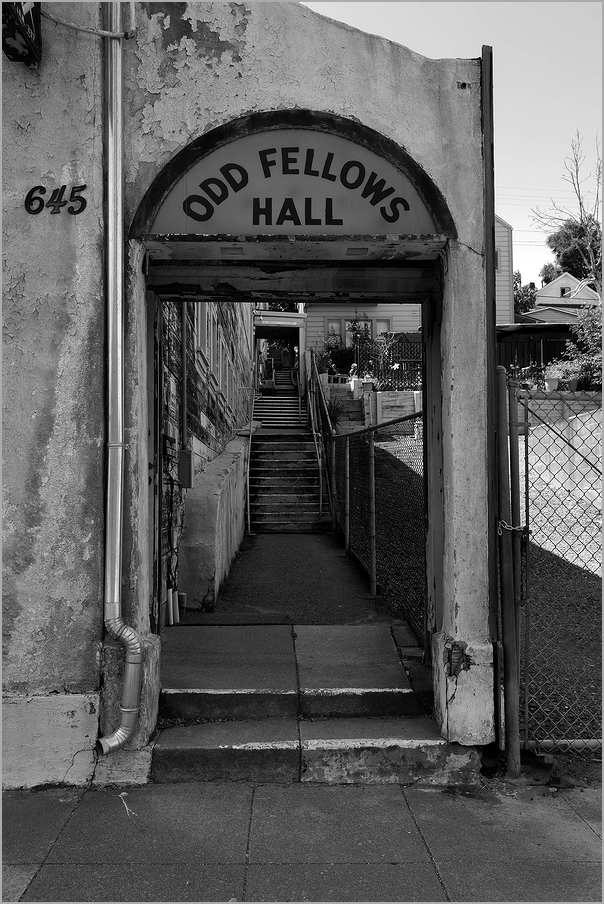 Odd Fellows Hall in Crockett California