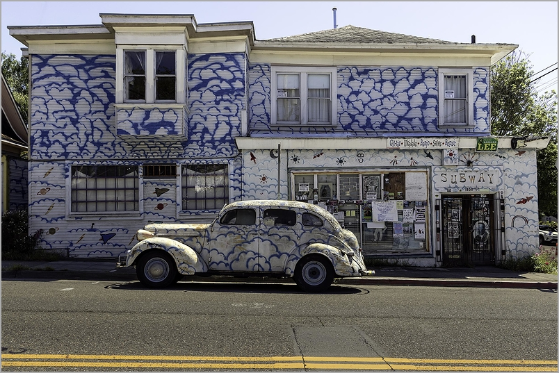 Cloud House and Cloud car Berkeley California