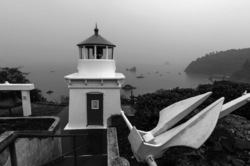 Foggy Morning at Trinidad Light