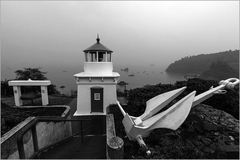 Foggy Morning at Trinidad Lighthouse