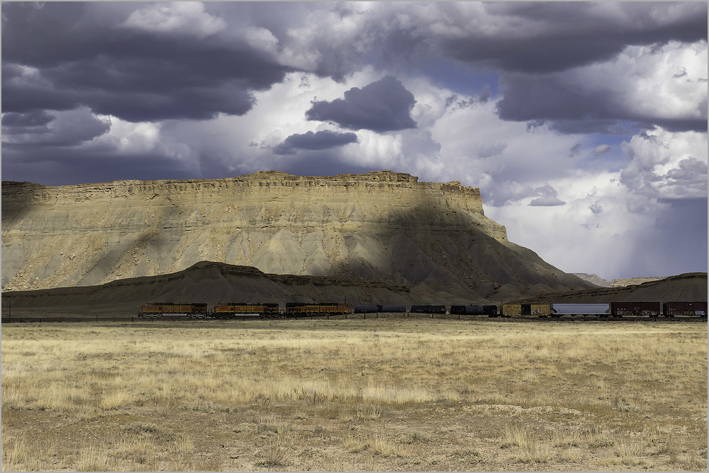 Train Across The Colorado Plateau